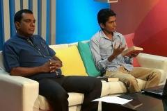 Kelum-Weligama-With-Sirasa-TV